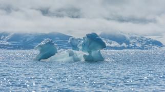 блики, холод, пейзаж, море, лёд