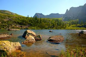Ергаки Озеро Берчикуль обои для рабочего стола 4219x2801 ергаки озеро берчикуль, природа, горы, ергаки, озеро, берчикуль, россия, саяны, сибирь