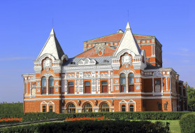 здание, Самара, театр, Россия