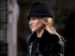 актриса, профиль, шляпа, женщина, 2018