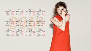 chloe grace moretz, календари, знаменитости, взгляд, актриса, девушка, 2018
