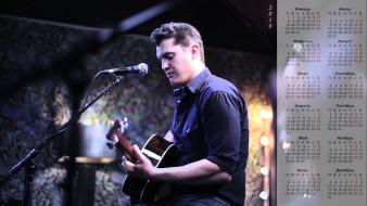 микрофон, 2018, парень, гитара