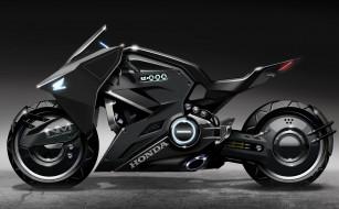 motorcycle, Concept, Honda