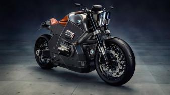 bmw urban racer concept, мотоциклы, bmw, urban, racer, concept