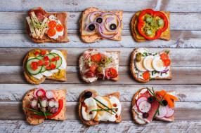 ассорти, бутерброды