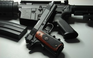 Handgun, Pistol, Guns, Military