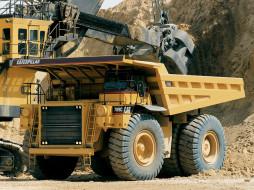 caterpillar 789c, техника, строительная техника, грузовик, авто, самосвал, американец.
