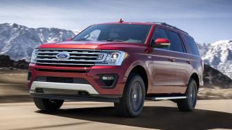 ford expedition 2018, автомобили, ford, красный, 2018, внедорожник, expedition