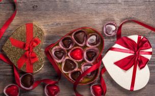 valentine`s day, sweet, romantic, gift, love, chocolate, heart, конфеты