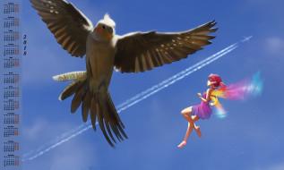 фея, полет, 2018, птица