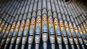 музыка, -музыкальные инструменты, орган, уэльс, трубы, рексем