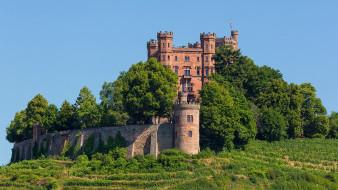 парк, замок