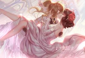 аниме, youjo senki, девушки