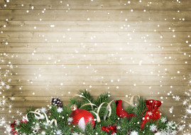 шишки, праздник, ветки ели, игрушки, шары, новый год
