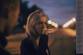 взгляд, сигарета, 2018