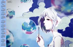 пузырь, 2018, девушка