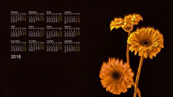 цветы, 2018, абстракция