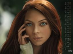 лицо, взгляд, 2018, девушка