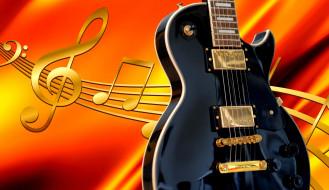 музыка, -музыкальные инструменты, ноты, гитара