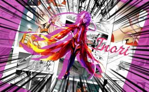 аниме, guilty crown, девушка