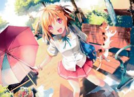 аниме, kantoku , artbook, девушка