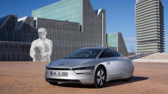 2014, XL1, серебристый, металлик, Volkswagen