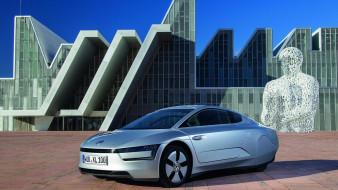 XL1, 2014, Volkswagen, серебристый, металлик