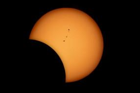 звезда, Солнце, Луна, солнечное затмение, планета