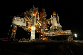 space shuttle endeavour, космос, космодромы, стартовые площадки, шаттл