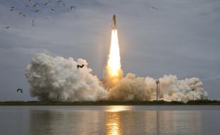 space shuttle atlantis, космос, космодромы, стартовые площадки, шаттл