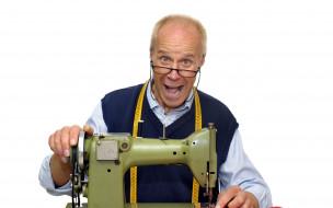 обои для рабочего стола 2560x1600 мужчины, - unsort, сантиметр, машинка, швейная, портной