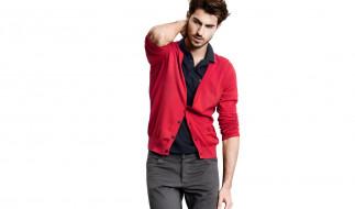 шатен, кофта, брюки, щетина, Antonio Navas, поло