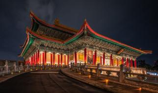 national theater,  taipei, города, тайбэй , тайвань,  китай, простор