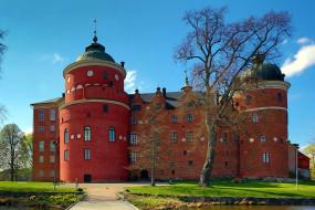 gripsholm castle, города, замки швеции, gripsholm, castle