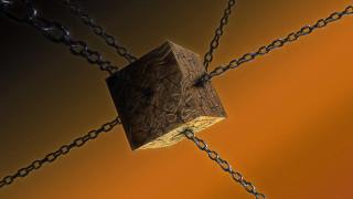 3д графика, другое , other, цепи, куб