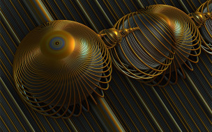 3д графика, абстракция , abstract, шары