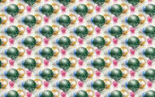 Новый год, фон, текстура, праздник, новогодние шары, шарики