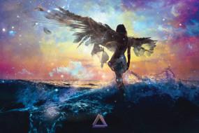 фэнтези, ангелы, ангел