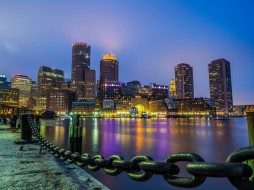 boston, города, бостон , сша, простор