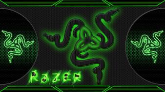 компьютеры, razer, логотип, фон