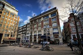 отель, улица, велосипеды