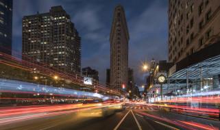 broadway, города, нью-йорк , сша, простор