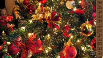 обои для рабочего стола 3840x2160 календари, праздники,  салюты, игрушки, шар, елка, 2018