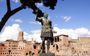 города, рим,  ватикан , италия, caesar, monument