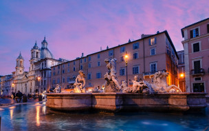 города, рим,  ватикан , италия, фонтан