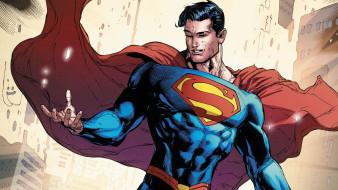 рисованное, комиксы, superman