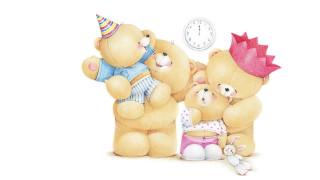 рисованное, мишки тэдди, семья, детская, мама, мишки, настроение, teddy, bears, праздник, дети, арт, папа, forever, friends, deckchair, bear