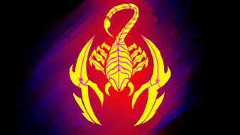 Красное, Синее, Тату, Скорпион