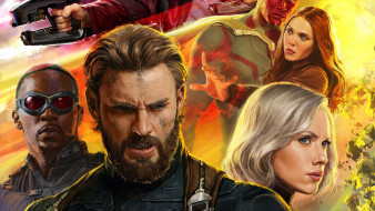 avengers,  infinity war, рисованное, кино, персонаж
