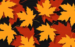 листья, фон